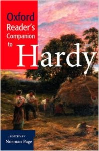 Oxford reader's comapnion to hardy